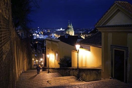 Prague, street, oldtown