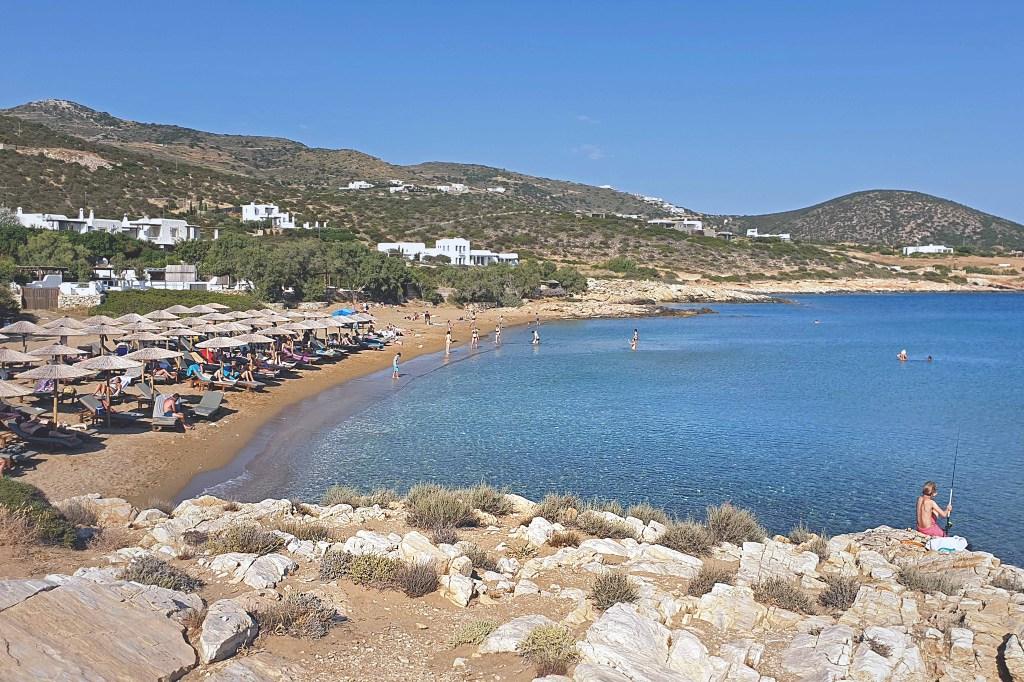Paros Faragas Beach