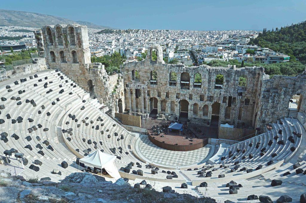 Ateena Akropol, Herodese Odeion