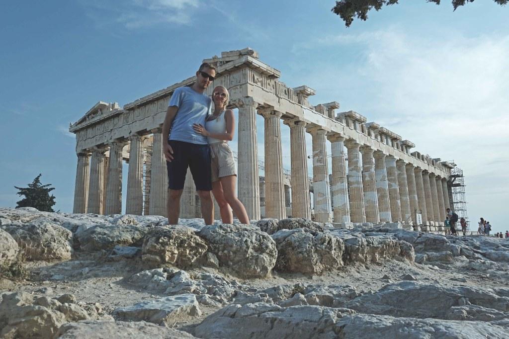 Ateena Akropol, Parthenoni tempel